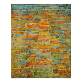 Paul Klee Highways and Byways Poster