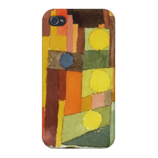 Paul Klee In The Style Of Kairouan Cover For iPhone 4