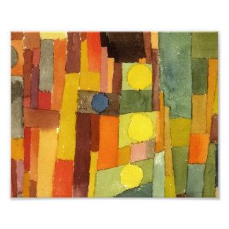 Paul Klee In The Style Of Kairouan Photo Print