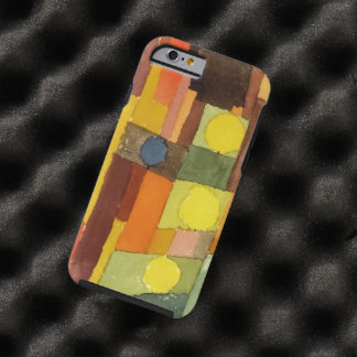 Paul Klee In The Style Of Kairouan Watercolor Art Tough iPhone 6 Case