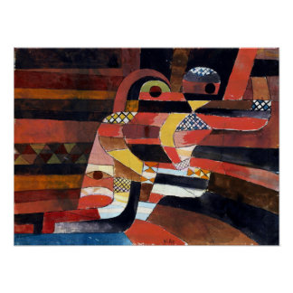 Paul Klee Lovers Poster