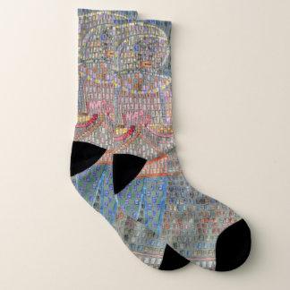 Paul Klee Man in Fancy Dress - Socks
