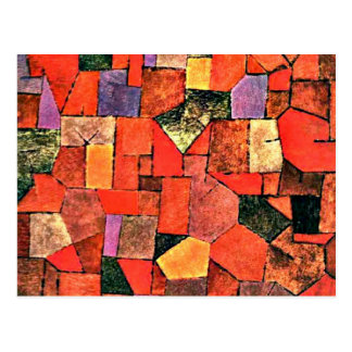 Paul Klee - Mountain Village Postcard