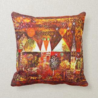 Paul Klee - Nocturnal Festivity Throw Pillow