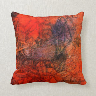 "Paul Klee painting: ""Groynes."" Throw Pillow"