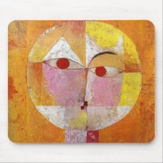 Paul Klee - Senecio Mouse Pad
