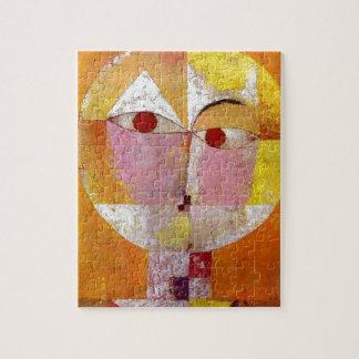 Paul Klee Senecio Painting Jigsaw Puzzle