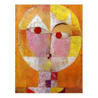 Paul Klee - Senecio Postcard