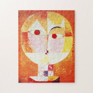Paul Klee Senecio Puzzle