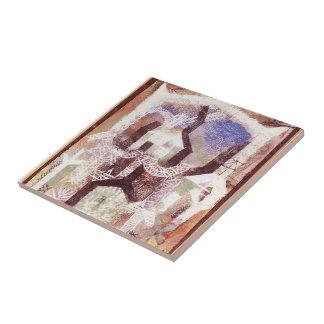 Paul Klee- Summer houses Ceramic Tiles