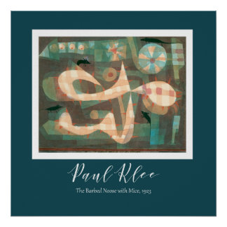 Paul Klee - The Barbed Noose With The Mice Poster