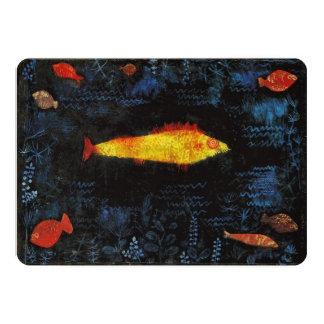 Paul Klee The Goldfish Vintage Watercolor Art Card