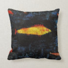 Paul Klee The Goldfish Vintage Watercolor Art Throw Pillow