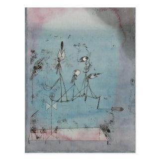 Paul Klee- Twittering Machine Postcard