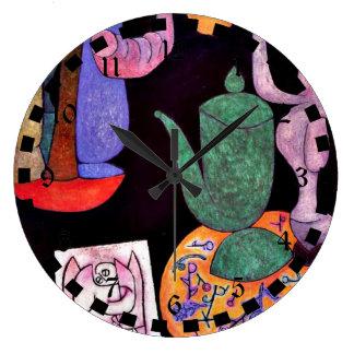 Paul Klee: Untitled (Still Life) Large Clock