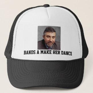 Paul Krugman Bands a Make Her Dance Trucker Hat