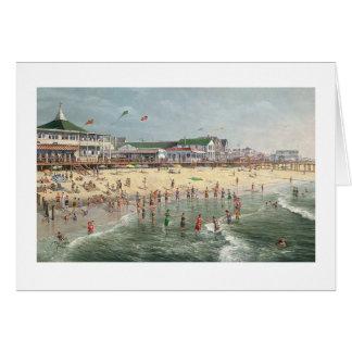 "Paul McGehee ""A Rehoboth Beach Memory"" Card"
