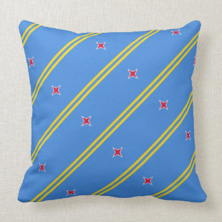"Paul McGehee ""Aruba Flag"" Pillow"