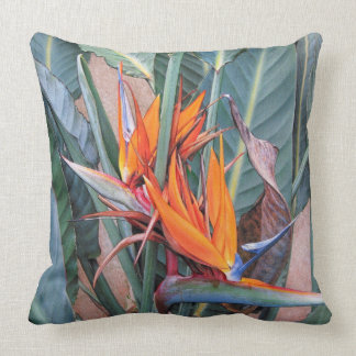 "Paul McGehee ""Bird of Paradise"" Pillow"