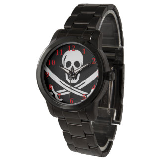 "Paul McGehee ""Calico Jack's Pirate Flag"" Watch"