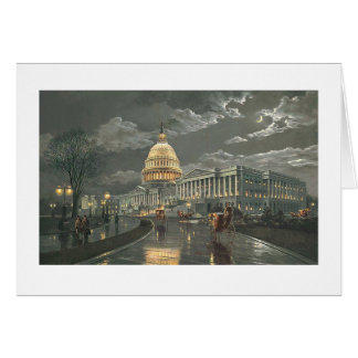 "Paul McGehee ""Capitol by Moonlight"" Card"