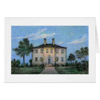 "Paul McGehee ""Carlyle House by Moonlight"" Card"