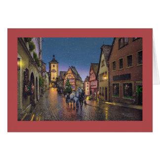 "Paul McGehee ""Christmas in Rothenburg"" Card"