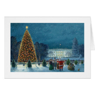 "Paul McGehee ""Christmas in Washington"" Card"