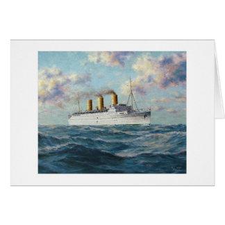"Paul McGehee ""Empress of Britain"" Card"