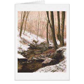 "Paul McGehee ""First Snow"" Card"