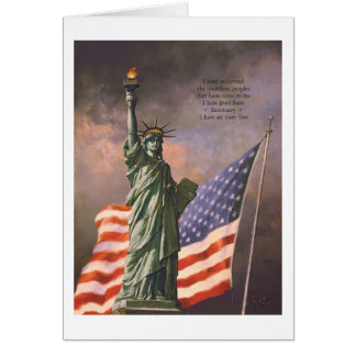 "Paul McGehee ""Liberty"" Card"