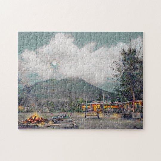 "Paul McGehee ""Nevis-Sunshine's by Moonlight Puzzle"