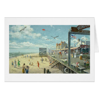 "Paul McGehee ""Ocean City: Boardwalk Memories"" Card"