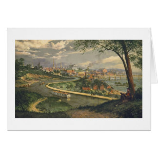 "Paul McGehee ""Old Richmond on the James"" Card"