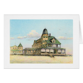 "Paul McGehee ""Plimhimmon Hotel - Ocean City, MD."" Card"