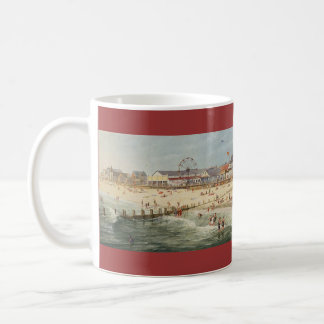 """Paul McGehee """"Rehoboth Beach Panorama - 1925"""" Mug"""
