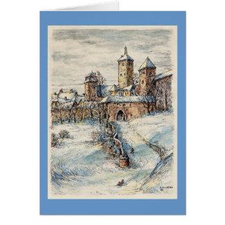"Paul McGehee ""Rothenburg"" Christmas Greeting Card"