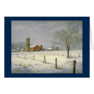 "Paul McGehee ""Silent Snowfall"" Christmas Card"