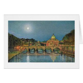 "Paul McGehee ""St Peter's Moonlight"" Note Card"