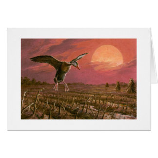 "Paul McGehee ""Sunset Wings"" Card"