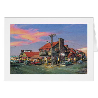 "Paul McGehee ""The Crab House-Ocean City, MD"" Card"