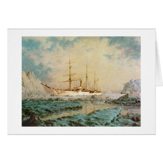 "Paul McGehee ""USRC ""Bear"" in Alaskan Waters"" Card"