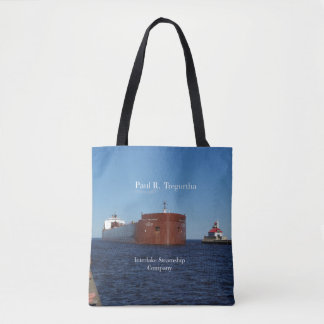 Paul R. Tregurtha Duluth all over tote bag