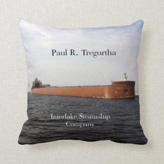 Paul R. Tregurtha square pillow
