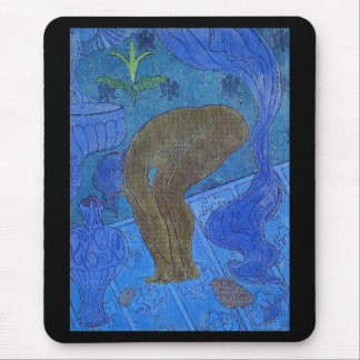 "Paul ranson, ""The Blue Bather"" Mouse Pad"
