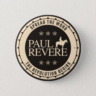 Paul Revere 2 Inch Round Button