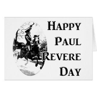 Paul Revere Day Card