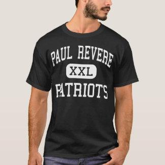 Paul Revere - Patriots - Middle - Houston Texas T-Shirt