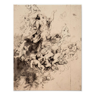 Paul Rubens - Assumption of Mary Poster