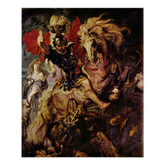 Paul Rubens - Battle detail Poster